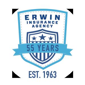 Erwin Insurance - 55 Years Badge