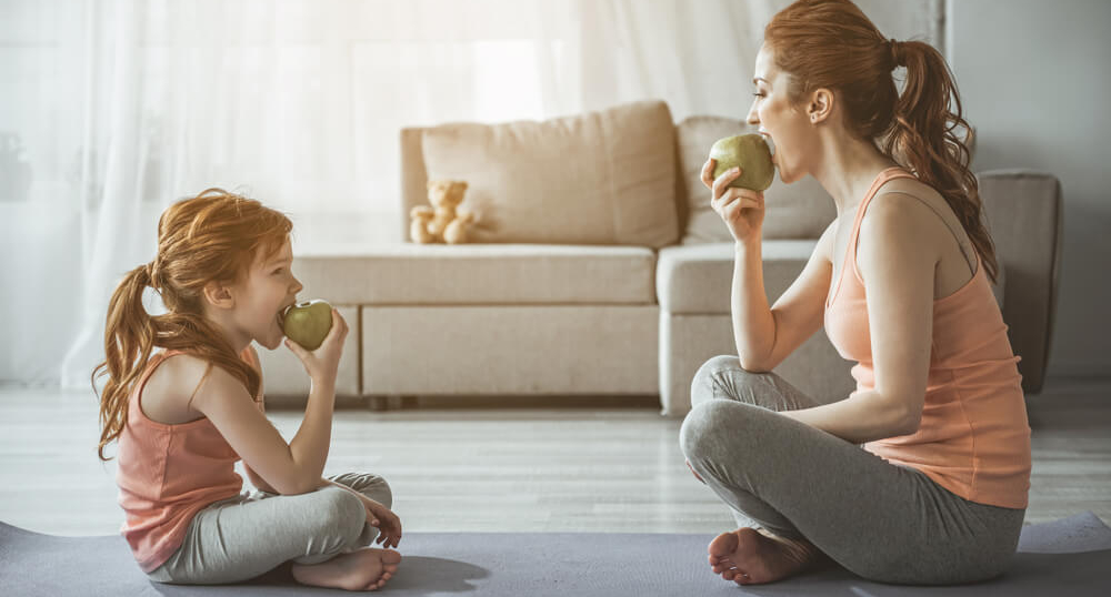 A mother and daughter eat apples; comparing insurance policies isn't like apples to apples